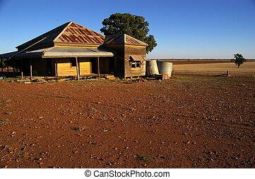 Deserted Australian Farmhouse