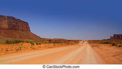deserto, guidare