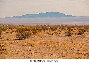 deserto mojave, ferrovia