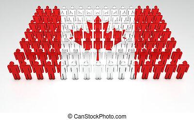 desfile, canadiense