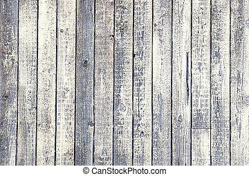 desfolha, branca, madeira, resistido, pintura