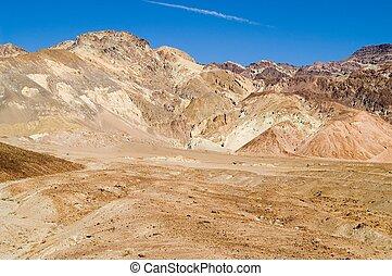 desierto, colorido