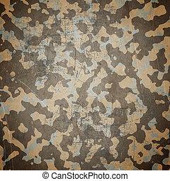 desierto, ejército, camuflaje, plano de fondo