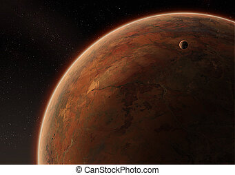desierto, planeta