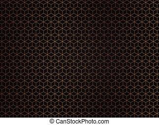 design-1, abstrakt, polygonal, hintergrund., sechseck, technologie