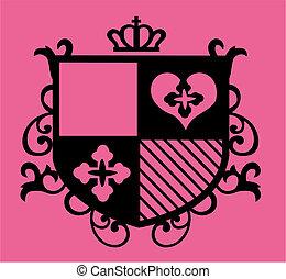 design, abzeichen, emblem