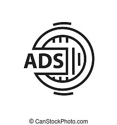 Design Advertisement icon
