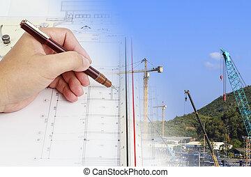 design and develop a construction plan