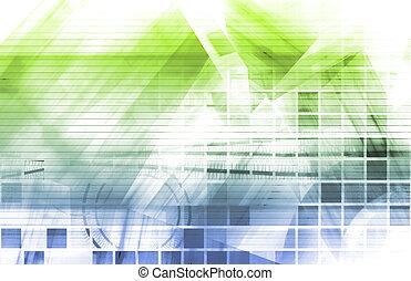 Design Architecture Tech Software as Art Concept