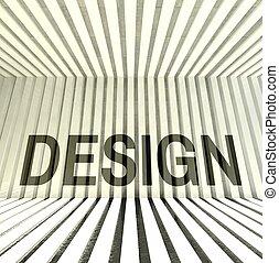 design, architektur, inneneinrichtung, zeitgenössisch, stil