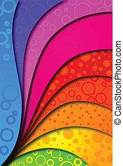 design., astratto, vettore, fondo, colorfull