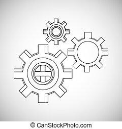 design, ausrüstung, ikone