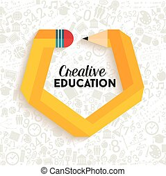 design, begrepp, utbildning, skapande