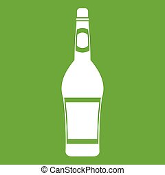 Design bottle icon green