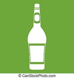 Design bottle icon green