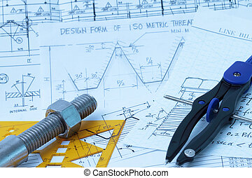 Design calculation of bolt and nut