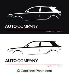 Design car silhouette