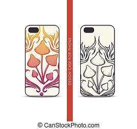 Design Case for Phone Abstract Mushroom - Design covers for ...