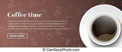 Design coffee banners