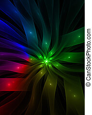 Design colorful, multicolor abstract background - Laser...