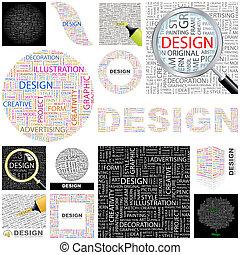 Design. Concept illustration.