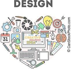 Design concept illustration.