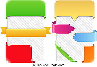 Design elements for banners