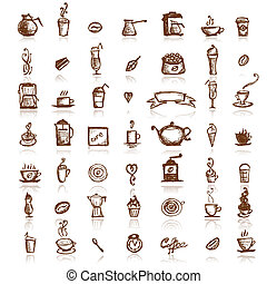 Design elements for coffee company