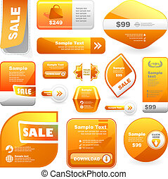 Design elements for sale. Business illusrtation. Usable for...