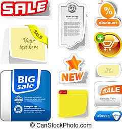 Design elements for sale. Business illusrtation. Usable for...