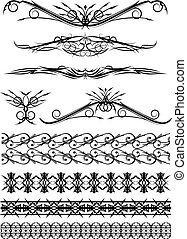 Design elements for tattoo