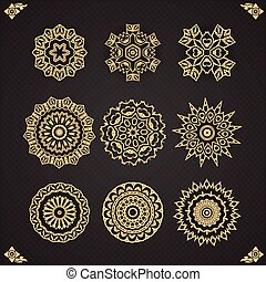 Design elements graphic Thai design ,Abstract Seamless