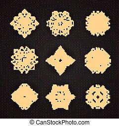 Design elements graphic Thai design
