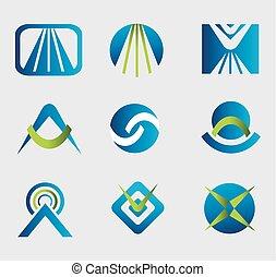 Design elements. Logo templates