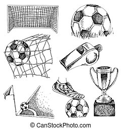 Design elements of soccer