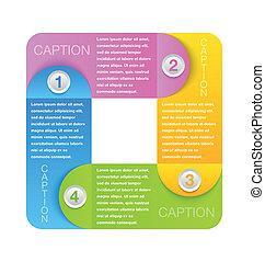 Design elements - Progress steps design element for...