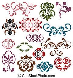Design Elements Set - Illustration vector