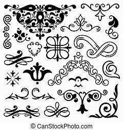 Design elements - Set of design elements