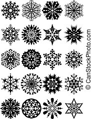 set of vector ornament and designs