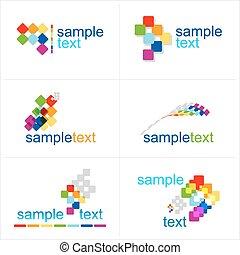 Design elements. Vector. Icons set.
