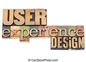 design, erfahrung, benutzer
