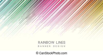 design, färgglatt, baner, 2106
