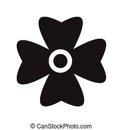 design Flower icon