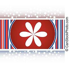 Design flower logo element. web icon isolated on white