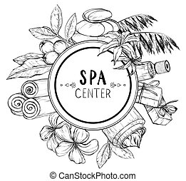 Design for spa and beauty salon