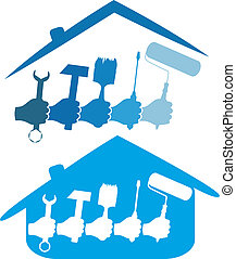 home repair - design for the home repair business