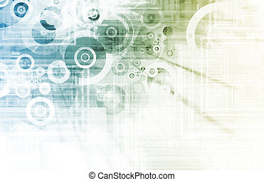 design, futuristický, grafické pozadí