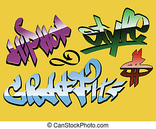 design graffiti words