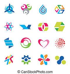 Design icons symbols