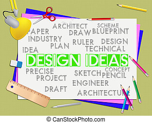 Design words mean development creativity and creation design words design ideas represents invention visualization and reflection design ideas meaning development designer and thoughts malvernweather Choice Image